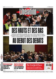 Libération du 22-01-2019 - Libération