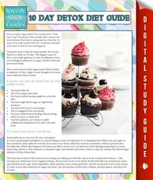 10 Day Detox Diet Guide (Speedy Study Guide)