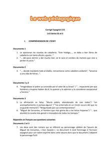 Baccalauréat LV2 Espagnol 2016 - Séries ES et S (Corrigé)