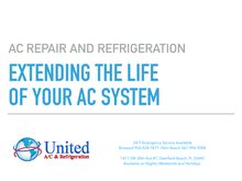 EXTENDING THE LIFE OF YOUR AC SYSTEM