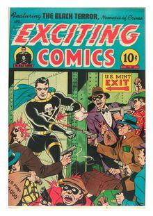 Exciting Comics 050 (inc.) -JVJ de  - fiche descriptive