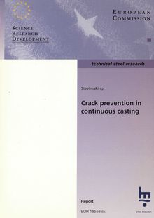 Crack prevention in continuous casting
