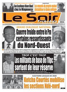 Le Soir Cameroun du 14-10-2019