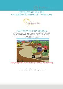 Female entrepreneurship in Cameroon (Part 2)