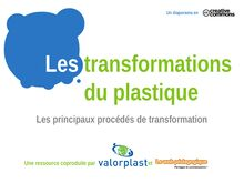 Les transformations du plastique