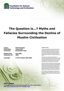 The Question is…? Myths and Fallacies Surrounding the Decline of ...