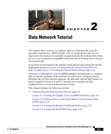 Data Network Tutorial