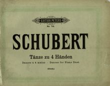 18 German Dances et Ecossaises, Schubert, Franz par Franz Schubert