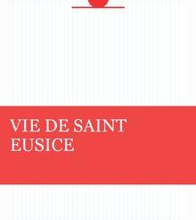 VIE DE SAINT EUSICE