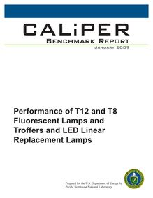 Performance of T12 and T8 Fluorescent Lamps and Troffers and ...