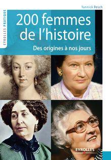 200 femmes de l'histoire de Yannick Resch - fiche descriptive