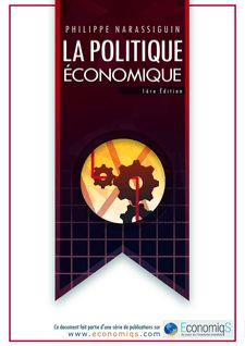 La Politique Economique - Philippe Narassiguin