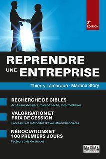 Reprendre une entreprise - Thierry Lamarque, Martine Story
