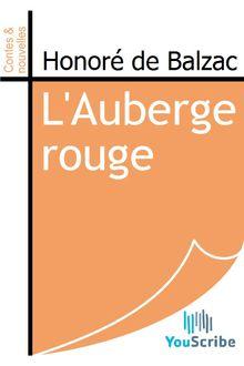 L'Auberge rouge de Honoré de Balzac - fiche descriptive