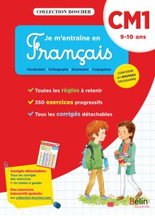 Je m'entraîne en français CM1 - Cahier