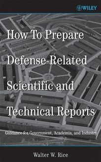 How To Prepare Defense-Related Scientific and Technical Reports