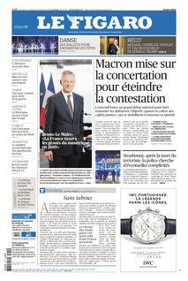 Le Figaro du 15-12-2018 - Le Figaro