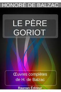 LE PÈRE GORIOT - HONORÉ DE BALZAC