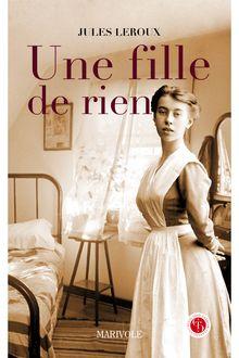 Lire Une fille de rien de Jules Leroux