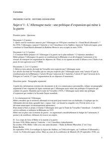 Corrige Brevet Histoire Geographie 2008