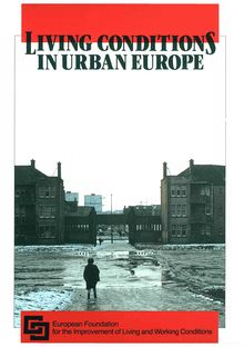 Living conditions in urban Europe
