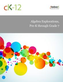 Algebra Explorations, Pre-K through Grade 7