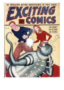 Exciting Comics 006 (fiche) de  - fiche descriptive