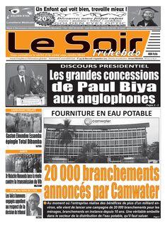 Le Soir Cameroun du 11-09-2019 - Le Soir Cameroun