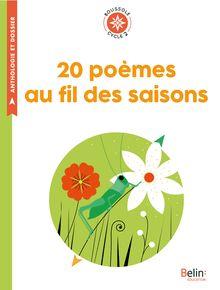Lire 20 poèmes au fil des saisons de Anthologie
