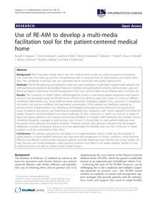 Use of RE-AIM to develop a multi-media facilitation tool for the patient-centered medical home