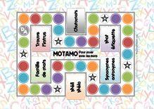 Jeu fabriqués – Motamo, jeu de vocabulaire pour CE1 - Le plateau de jeu