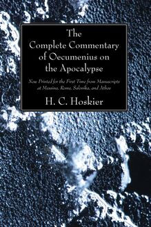 The Complete Commentary of Oecumenius on the Apocalypse