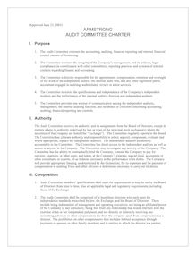 Audit Committee Charter Final