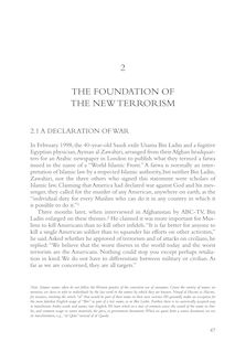 The Foundation of the New Terrorism - GPO Access