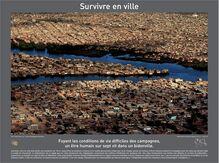 Survivre en ville - Poster A4