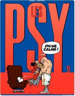 Les Psy - Tome 9 - ON SE CALME ! - Raoul Cauvin