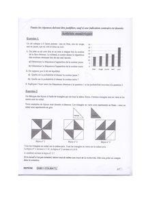 Brevet 2011 Maths