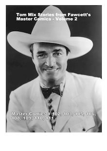 Tom Mix stories from Fawcett