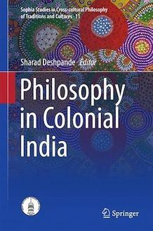 Philosophy in Colonial India