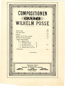 Partition complète, Scherzo, A♭ major, Posse, Wilhelm