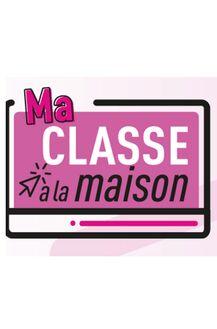 Ma classe à la maison, des ressources de l'Education Nationale via le CNED