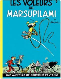 Spirou et Fantasio - Tome 5 - LES VOLEURS DU MARSUPILAMI - Franquin