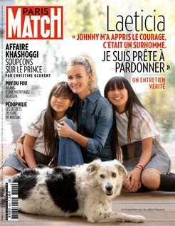 Paris Match du 25-10-2018 - Paris Match