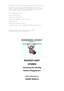Raggedy Andy Stories