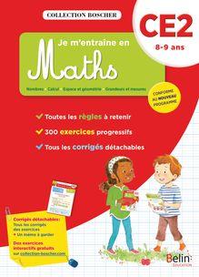 Je m'entraîne en maths CE2 - Cahier