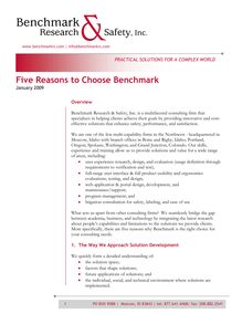 Benchmark White Paper Templage