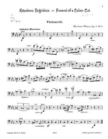 Partition de violoncelle, From My Youth, Op.5, From my youth. Miniatures for violin, violoncello and piano, op. 5.
