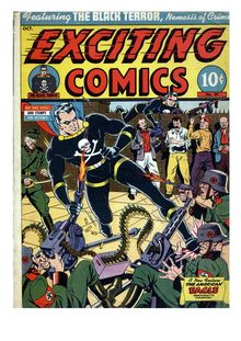 Exciting Comics 029 (Covers Only) de  - fiche descriptive