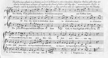 Partition complète, pour Thirsty Vampires, G Major, Hayes, William