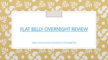 andrew raposo flat belly overnight reviews